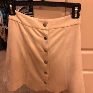 Lovers and friends suede skirt